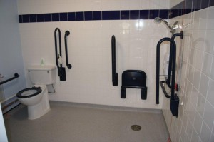 Disabled toilet and shower facilities